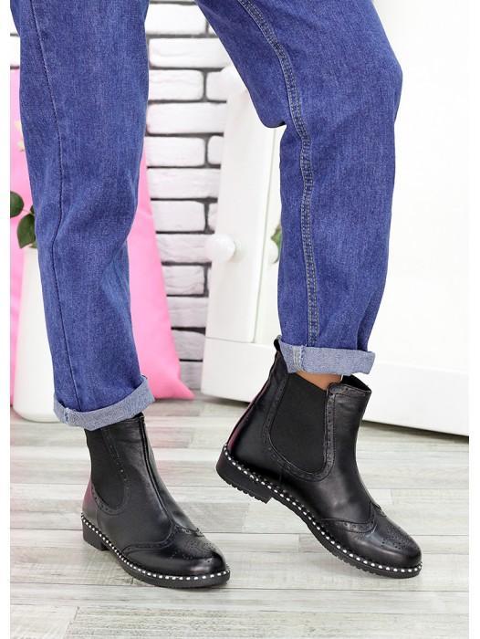 Ботинки Челси кожа 6708-28