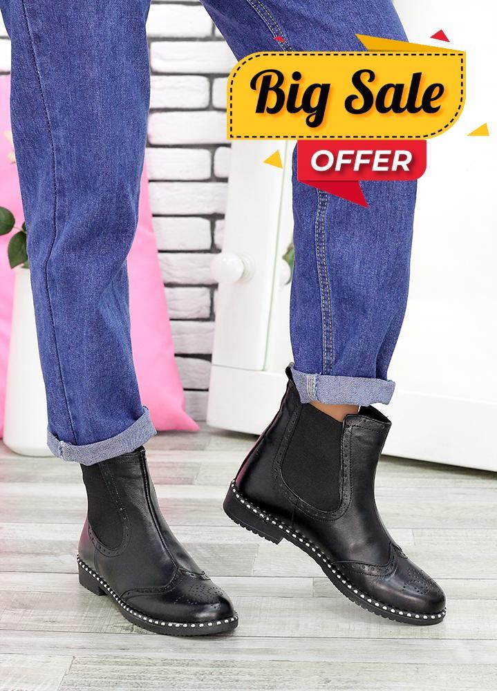 Ботинки Челсі шкіра 6708-28