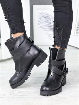 Ботинки кожаные LUX с пряжкой 7216-28