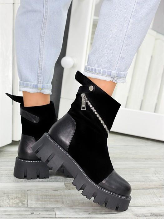 Ботинки женские Royal Black 7500-28