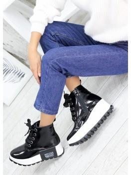 Ботинки жіночі лак-шкіра 7589-28