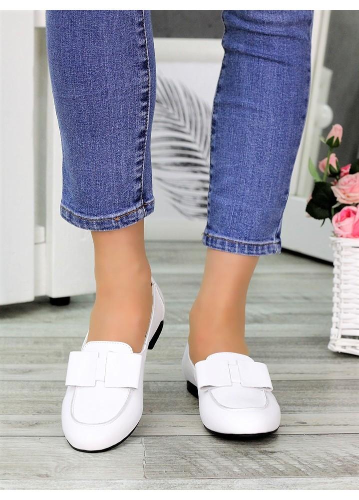 Туфли белые кожаные Bant 7035-28