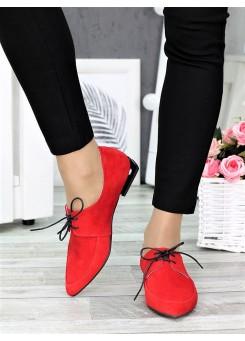 Туфли лодочки красные Kelly 7370-28