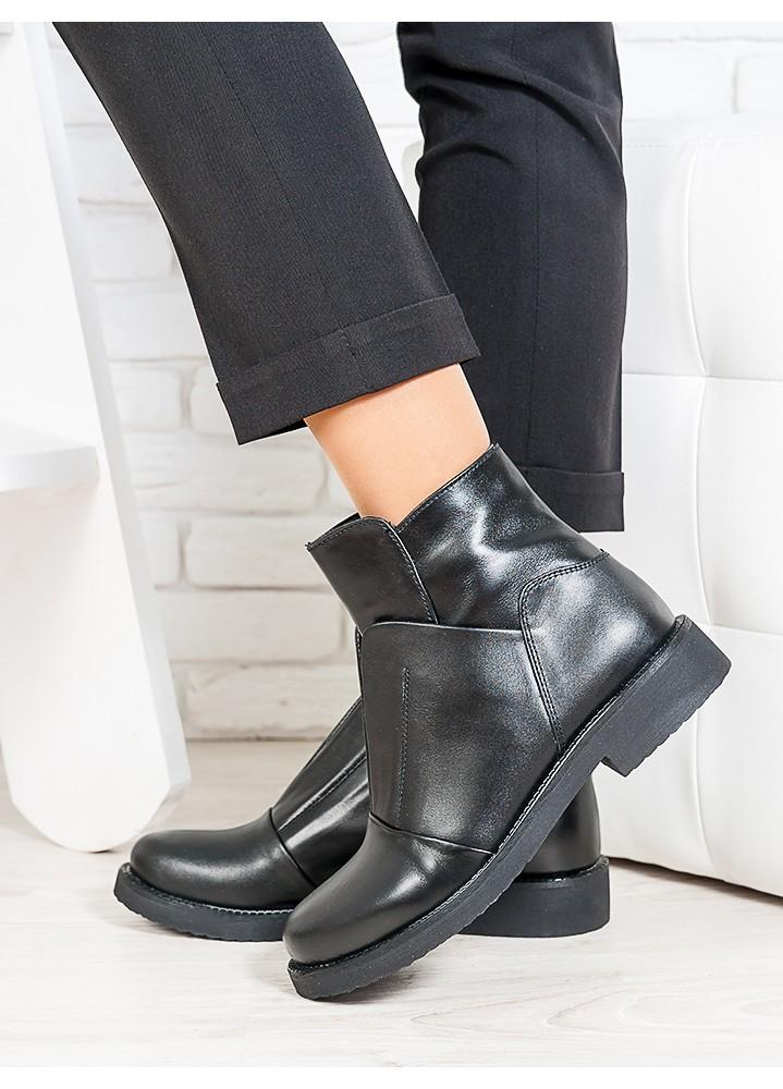 Ботинки жіночі шкіряні 6713-28