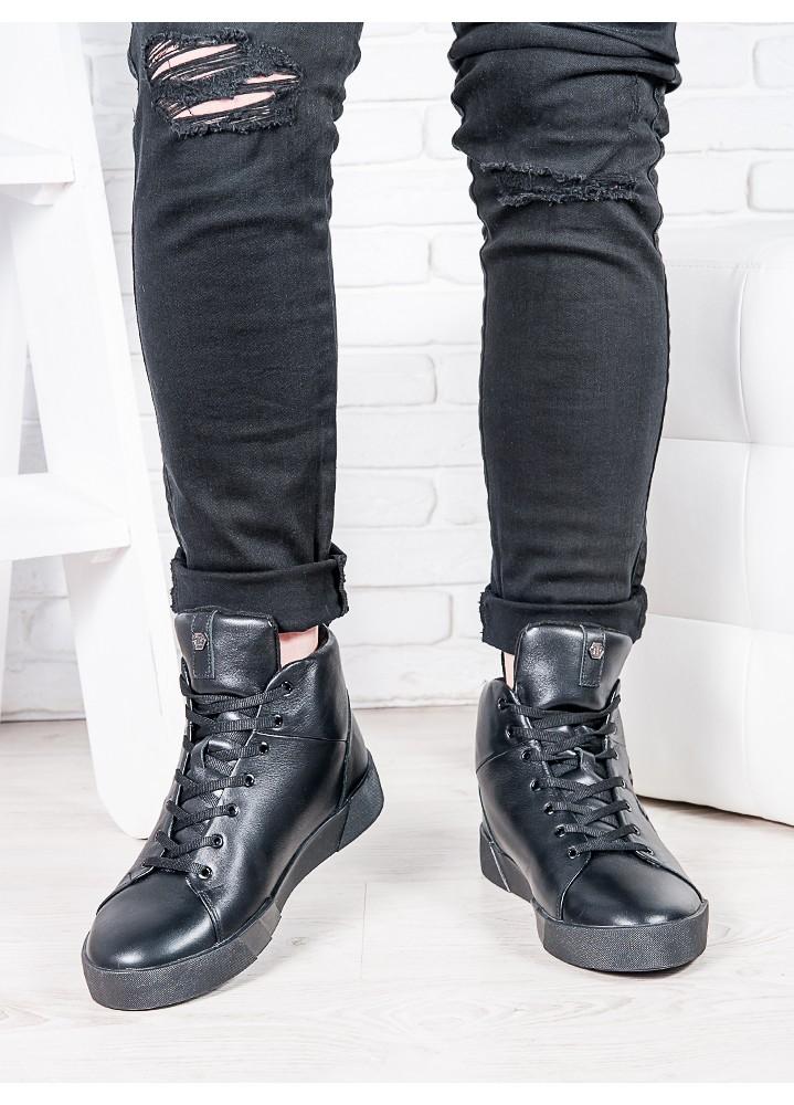 Мужские кожаные ботинки PP 6816-28