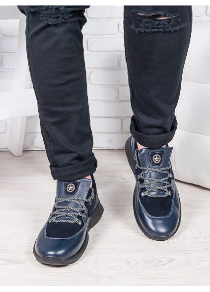 Чоловічі кросівки т. синій 6882-28