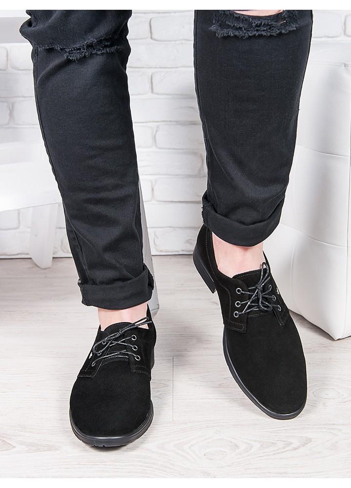 Мужские замшевые туфли 6893-28