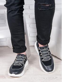 Чоловічі шкіряні кросівки 6902-28