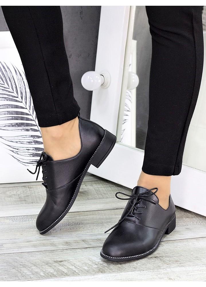 Туфли черная кожа Эвелин 7273-28